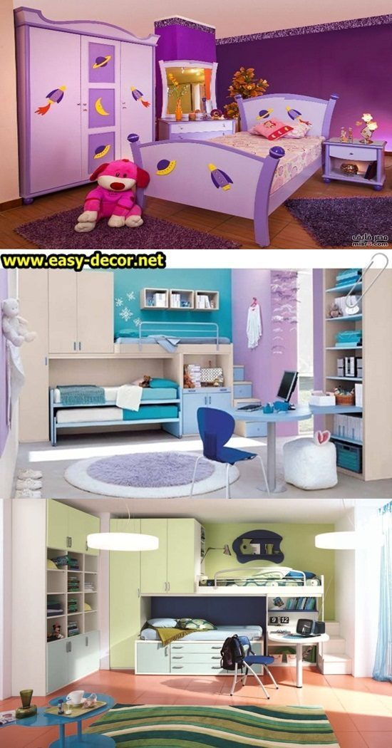 Themed Bedrooms for Teen Girls and Boys