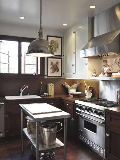 Your kitchen is small and you can 39 t function well in it for Find your kitchen style