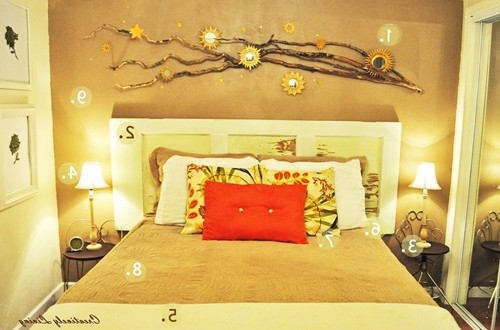 Simple Tips To Use The Wall Stickers To Decorate Bedroom ...
