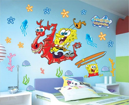 simple tips  To Use The Wall Stickers To Decorate Bedroom With An Extraordinary Look