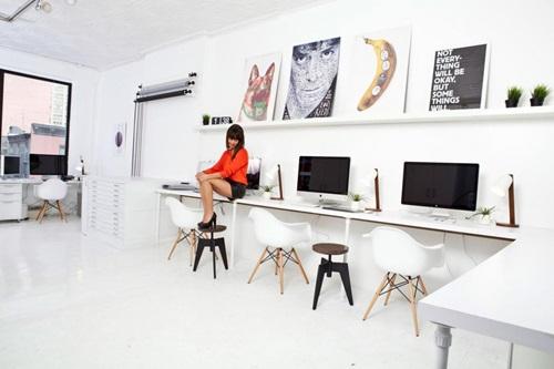 Amazing Modern Communal Office Workspace
