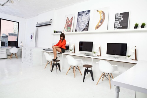Amazing Modern Communal Office Workspace