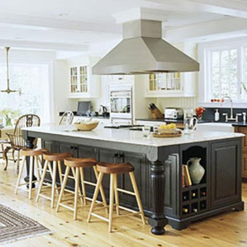 Awesome kitchen island design ideas interior design for Latest kitchen island designs