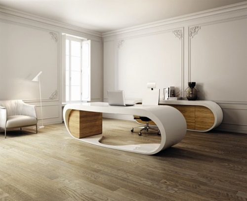 Breathtaking Ultramodern Home Office Design Ideas