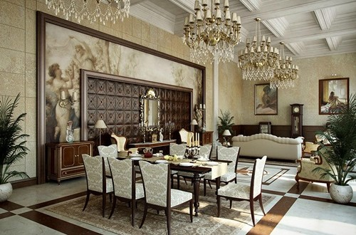 Nice Brilliant Ideas To Decorate Your Dining Room