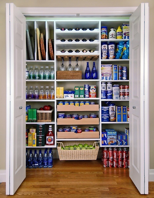 Brilliant Storage Ideas to Organize your Small Kitchen 11