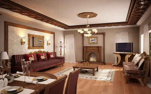 Chalet Living Room Amazing Design Ideas