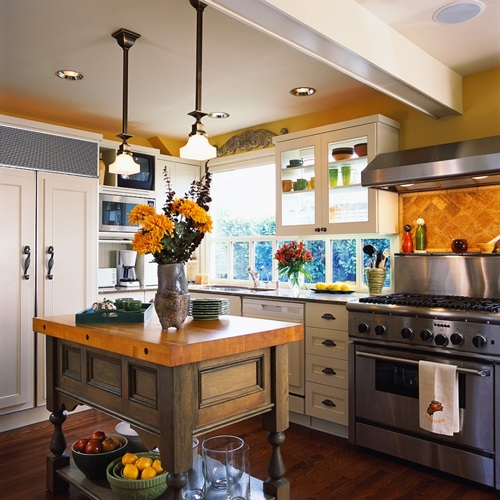 charming modern kitchen interior design ideas | Charming Country Kitchen Decorations with Italian Style ...