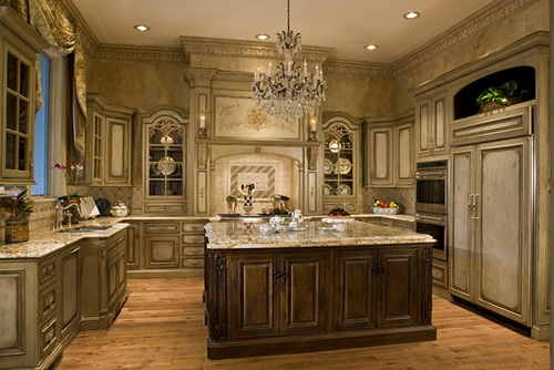 Classic french kitchen design ideas on budget interior for Modern classic kitchen design ideas
