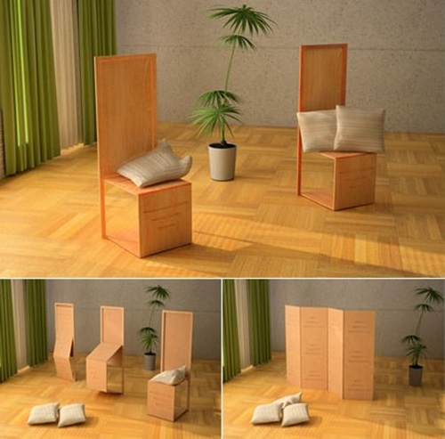Cool Foldable and Transformable Seating and Sleeping Furniture Designs