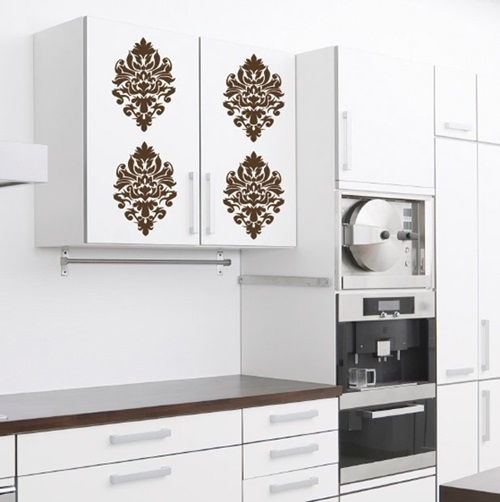 cool vinyl stickers to decorate your kitchen walls wall decoration decorate the walls with classy wall stickers