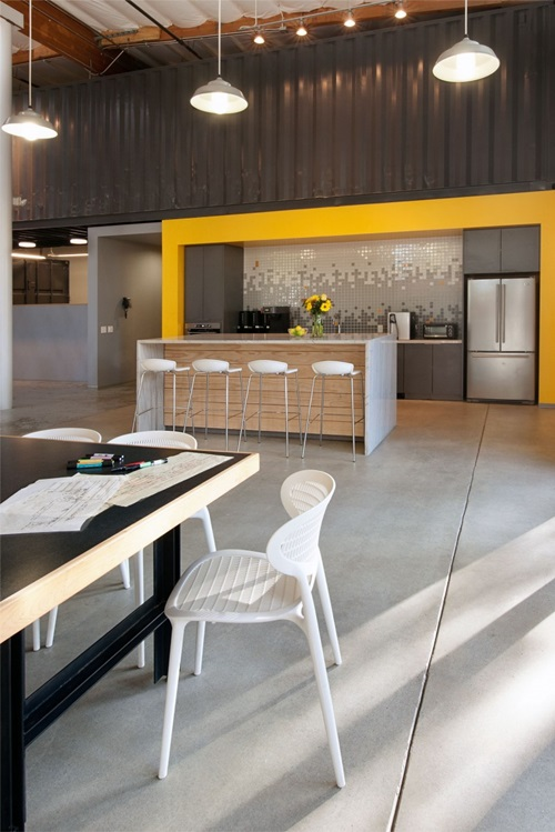 Creative Kitchen Office Design Ideas