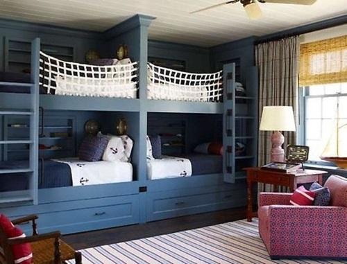 Creative Shared Kids room Design Ideas