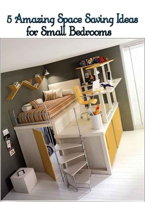 10 Creative Examples For Dividing Small Spaces: Creative Space-Saving Ideas For Small Kids' Bedrooms