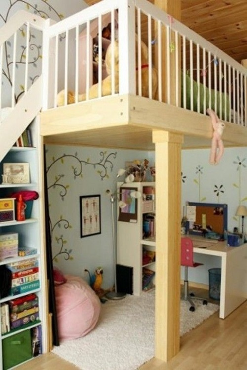 Creative space saving ideas for small kids bedrooms interior design - Space saving ideas for small kids bedrooms plan ...