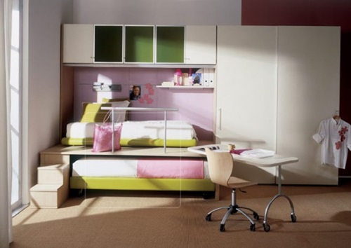 Creative space saving ideas for small kids 39 bedrooms interior design - Space saving ideas for bedrooms ...