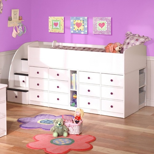 Creative Space-Saving Ideas for Small Kids Bedrooms