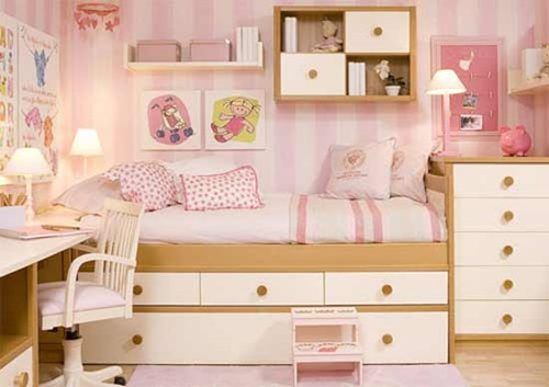 creative space saving ideas for small kids bedrooms interior