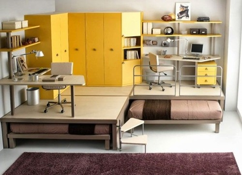 Creative space saving ideas for small kids 39 bedrooms - Space saving ideas for small bedrooms ...