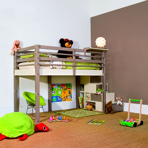 Creative space saving ideas for small kids 39 bedrooms Kid room ideas for small spaces