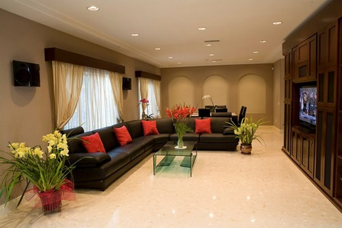 Elegant minimalist modern living room decorating ideas for House decor ideas for the living room