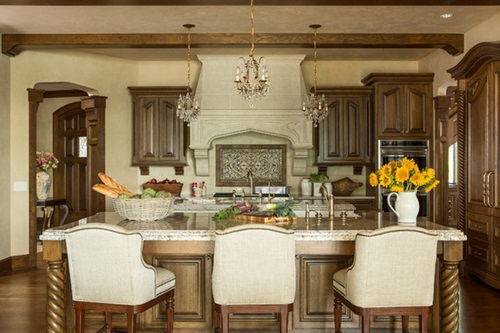 elegant and luxurious french kitchen design ideas - French Kitchen Design Ideas