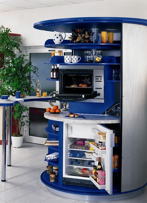 Futuristic Space Saving Kitchen Ideas
