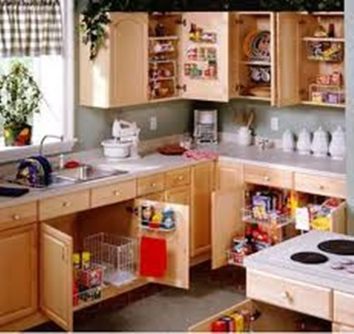 Kitchen Cabinets Organizing Ideas: How To Organize Your Kitchen's Electric Appliances
