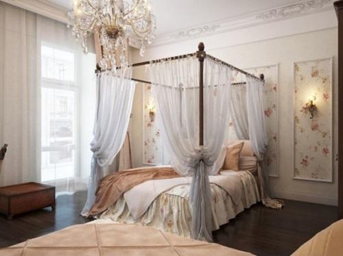 Impressive Bed Curtain Designs