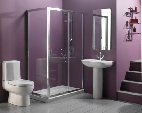 Impressive and Relaxing Shower Area Design Ideas