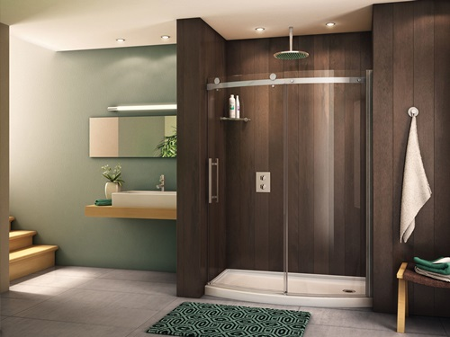 High Quality ... Impressive And Relaxing Shower Area Design Ideas ...