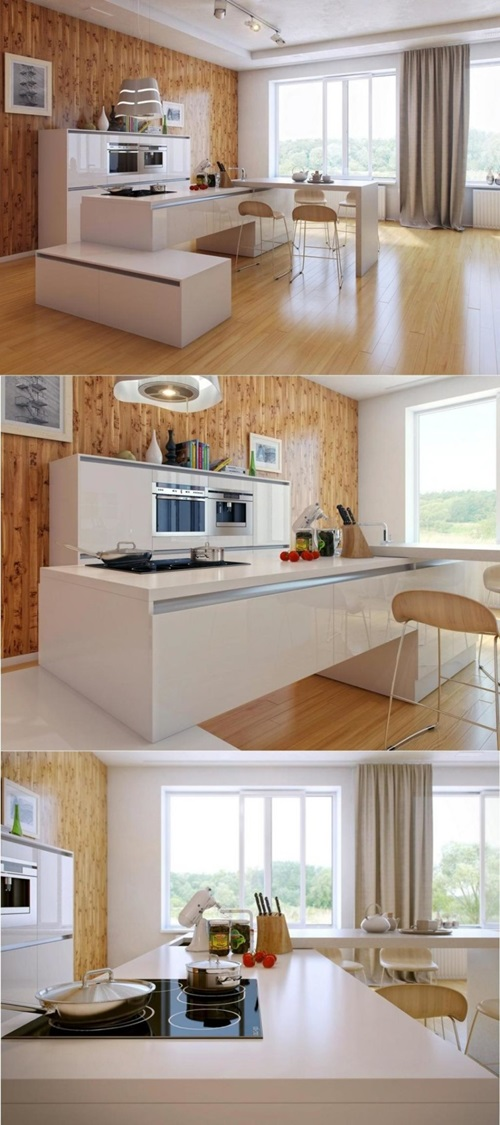 Innovative Kitchen Countertop Materials and Designs