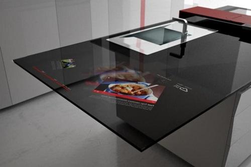 Innovative Countertop Materials : Innovative Kitchen Countertop Materials and Designs - Interior design