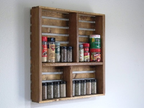 Interesting Spice Racks to Decorate your Kitchen