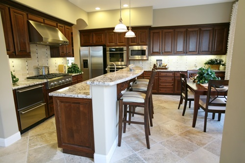 5 kitchen countertop design ideas interior design for Kitchen countertop planner