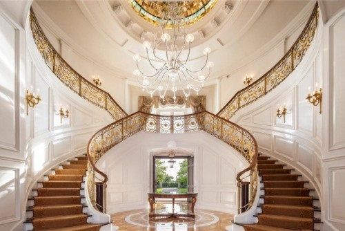 8 Luxurious Staircase Design Ideas - Interior design