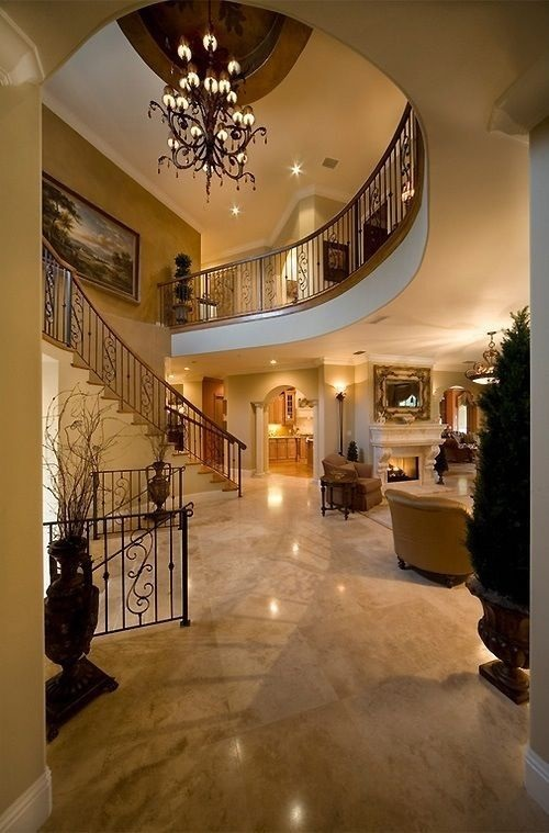 8 luxurious staircase design ideas interior design for Pretty house interior