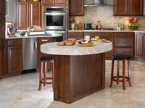 Kitchen Island Round modern round kitchen island interesting ideas - interior design