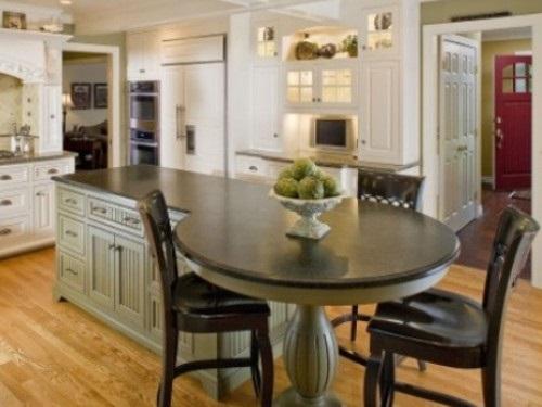 fascinating furniture style kitchen island | Modern Round Kitchen Island Interesting Ideas - Interior ...