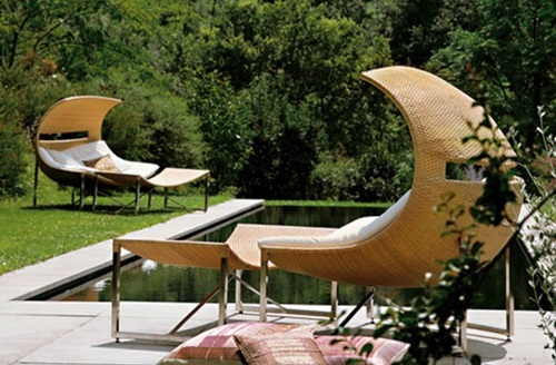 Outstanding Garden Furniture Materials and Designs