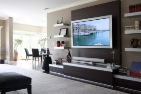 4 Decorative TV Stand Design Ideas