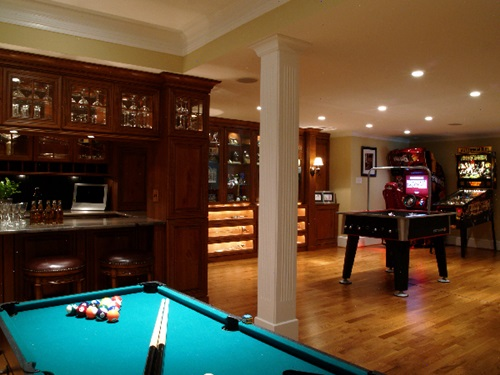 Recreation room amazing design ideas interior design Room decorating games for adults