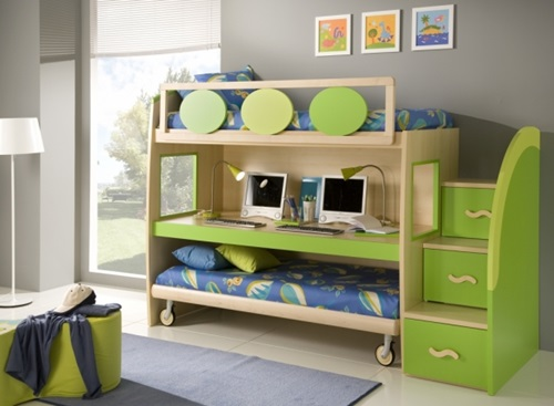 Single Teenager Room Designing Ideas