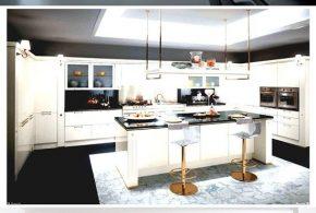 Spacious Modern Italian Kitchen Design Ideas