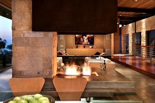 Stone Living Room Luxurious designs