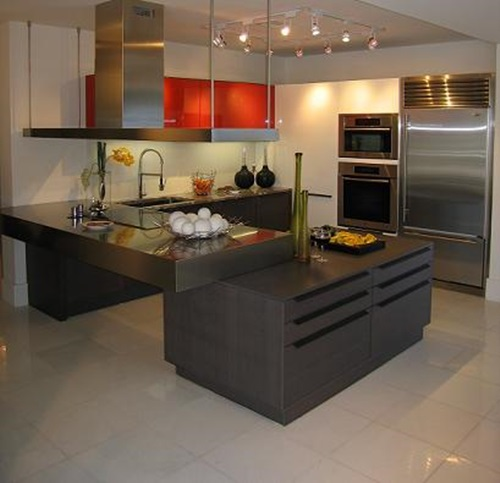 Modern Contemporary Kitchen Design: Stylish Modern Italian Kitchen Design Ideas