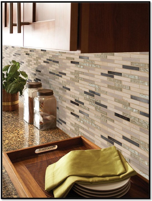 The Powerful Impact of the Glass Backsplash Tiles in your Kitchen