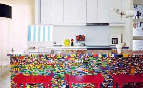 Toy Building Block Kitchen Design Ideas