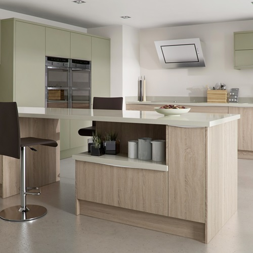 Modern Kitchen Design All In One Cooking Island Idea: Unique Modern Kitchen Island Design Ideas