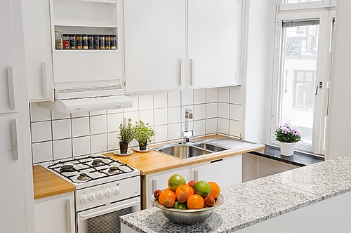 Very Small Kitchen Design Ideas ~ Useful tricks to maximize the space of your small kitchen